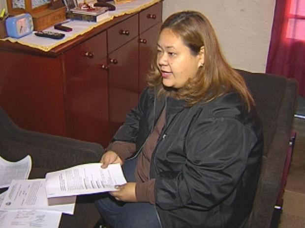 Assistente administrativo foi considerada não apta pela perícia técnica (Foto: Reprodução/TV Tem)
