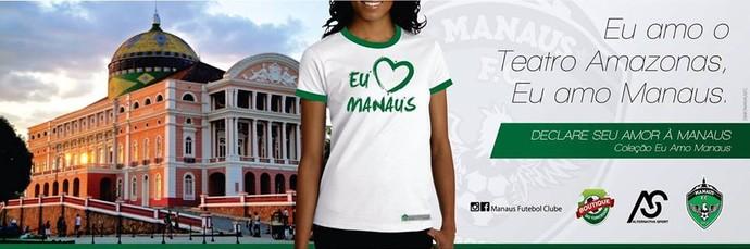 Camisa do Manaus (Foto: Reprodução/Facebook Manaus FC)