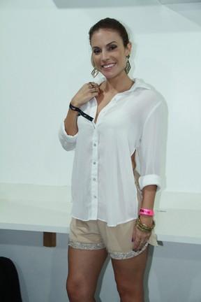Maíra Charken em show no Rio (Foto: Graça Paes/ Brazil News)
