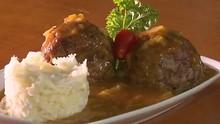 Almôndega Suína ao Curry: aprenda a fazer o prato da região de Maringá (Reprodução/RPC)