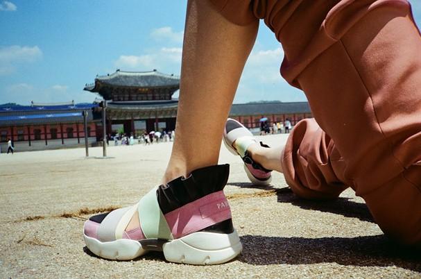 Pucci lança coleção cápsula de tênis inspirados em grandes cidades do mundo (Foto: Divulgação)