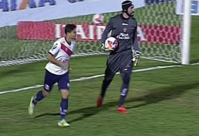Paraná vence o Boa Esporte em Varginha pela Série B (Foto: Reprodução Premiere FC)