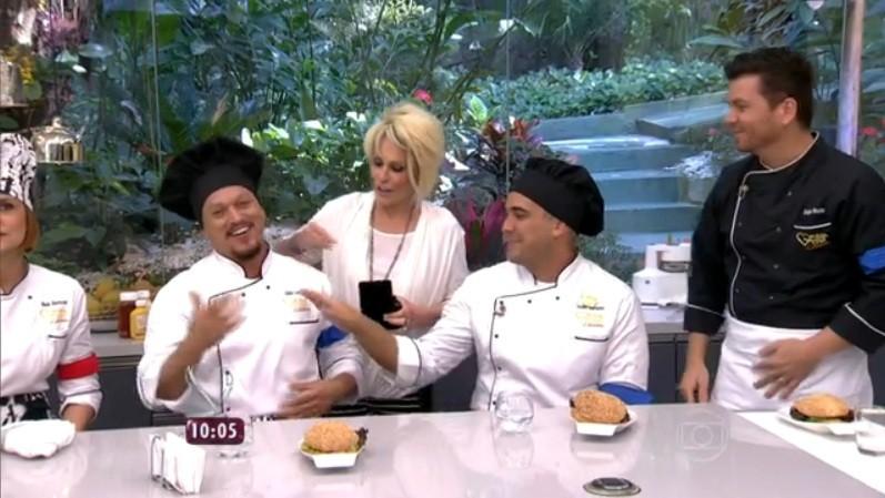 Fábio Lago e André Marques ganham imunidade no Super Chef (Foto: divulgação)