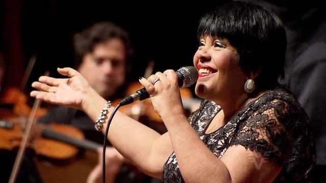 Rosa Passos encanta a plateia no Teatro do SESC (Foto: Reprodução/TV Tribuna)