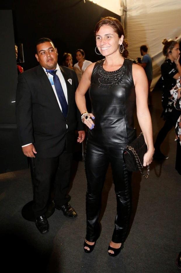 Giovanna Antonelli no Fashion Rio (Foto: Felipe Assumpcao / AgNews)