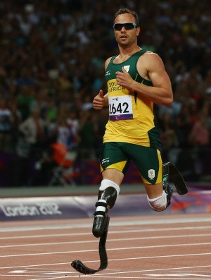 Oscar Pistorius 400m atletismo Paralimpíadas (Foto: Agência Getty)