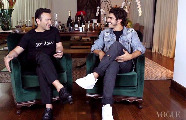 Matheus Mazzafera e Caio Castro (Foto: Divulgação)