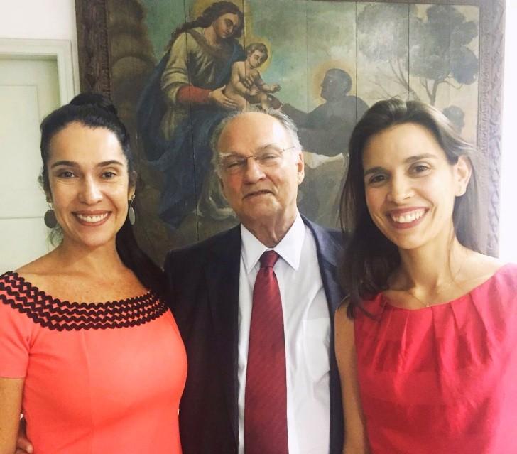 Maria do Céo, Roberto Freire e Rpberta Borba