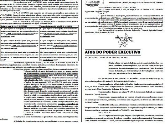 Governo do Estado da Paraíba lança programa de integridade para controle de licitações (Foto: Reprodução/TV Cabo Branco)
