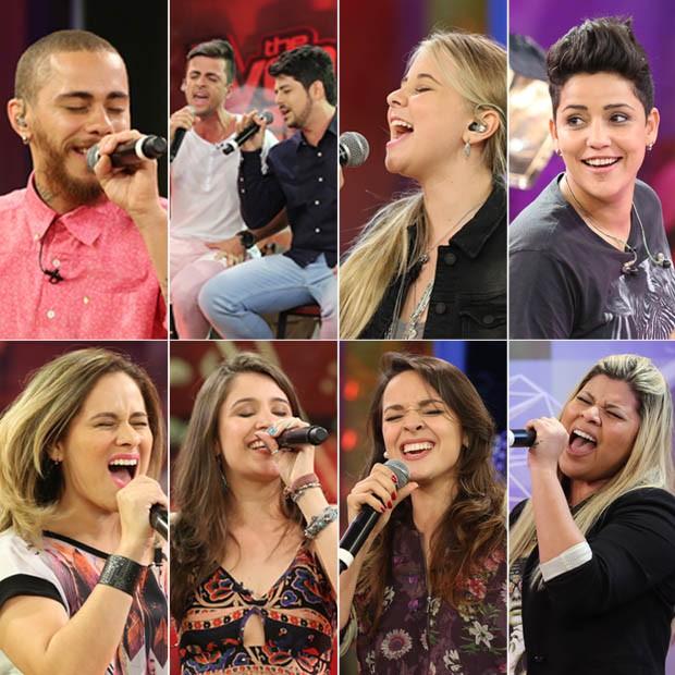 Oito vozes que seguem no The Voice Brasil após o Tira-teima (Foto: The Voice Brasil)