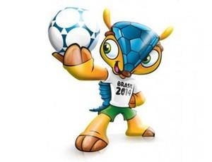mascote Copa 2014 tatu-bola (Foto: Divulgação)