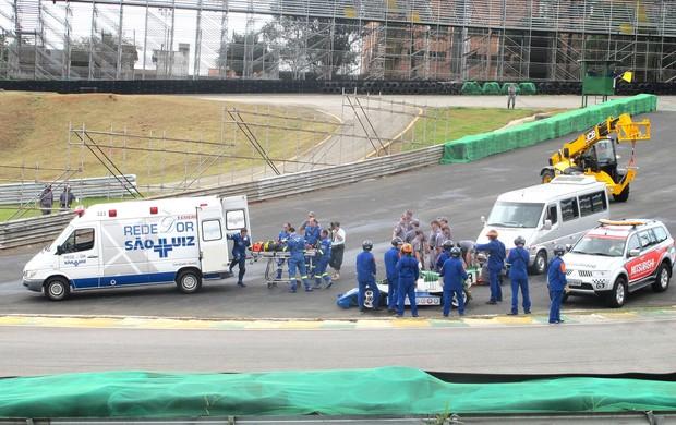 Resgate GP Brasil, Interlagos  (Foto: Marcelo Prado / Globoesporte.com)