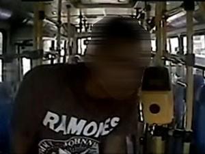 Suspeito de estuprar mulher em ônibus no Rio é detido. (Foto: Reprodução Arte / TV Globo)