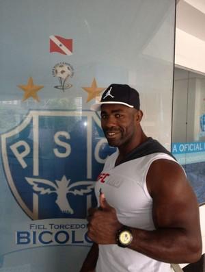 o lutador Gerônimo Mondragon (Foto: Divulgação/Ascom Paysandu)