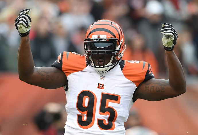 Wallace Gilberry, NFL (Foto: AFP)