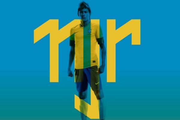 Neymar marca oficial (Foto: reprodução)