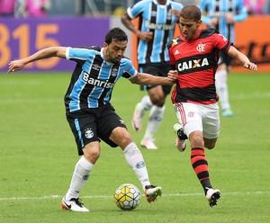 Grêmio x Flamengo Edilson Cuellar (Foto: Roberto Vinícius/Futura Press)
