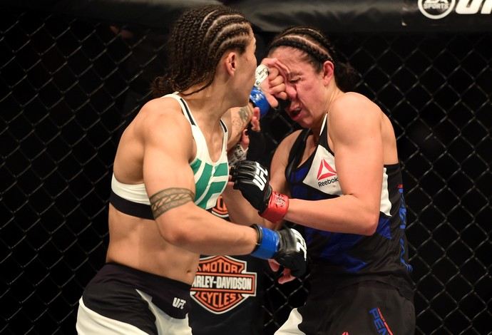 Jessica Andrade Jessica Penne UFC 199 (Foto: Getty Images)