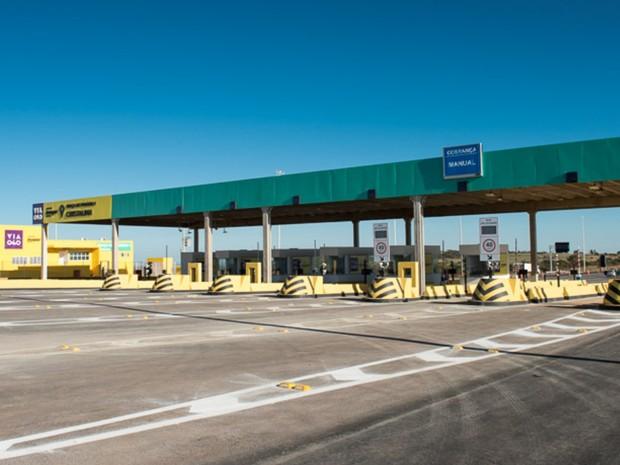 Pedágio na BR-040 deve aumentar em 20 centavos para carros leves goiás cristalina (Foto: Divulgação/Via 040)