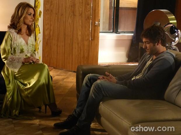 Pamela pede para Davi cuidar de Megan (Foto: Geração Brasil/ TV Globo)