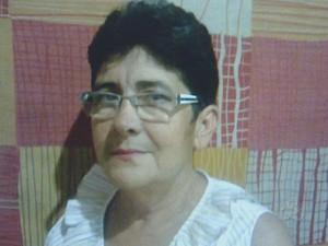 Ana Maria Rodrigues era passageira do veículo e morreu no local do acidente (Foto: Reprodução/TV Amapá)