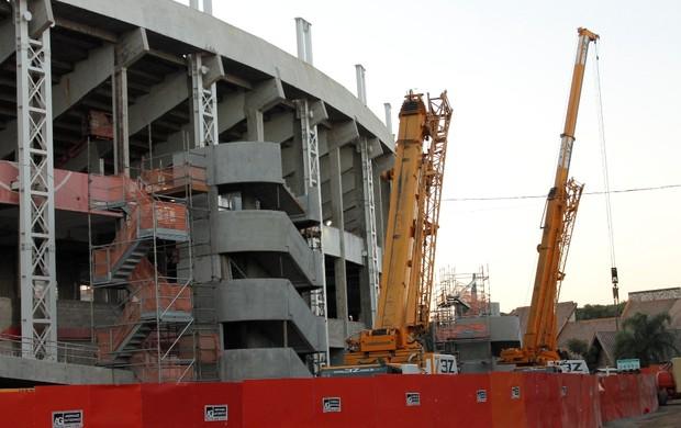 Torre de circulação ao estádio Beira-Rio (Foto: Diego Guichard)