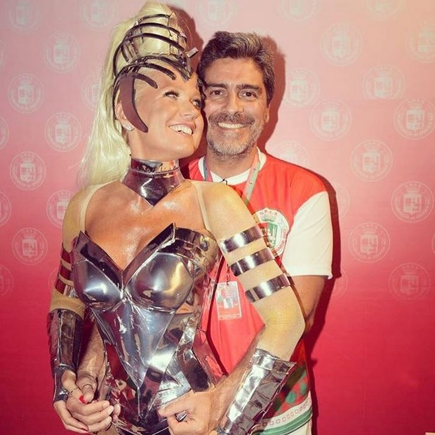 Xuxa e Junno (Foto: Instagram / Reprodução)