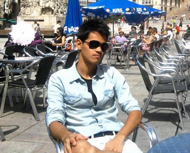 Rafael Leite se considera sósia de Taylor Lautner (Foto: Reprodução)