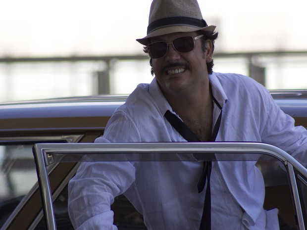Lúcio Mauro Filho em cena de 'Vai que dá certo 2', no qual interpreta Danilo (Foto: Daniel Patarro/Divulgação)