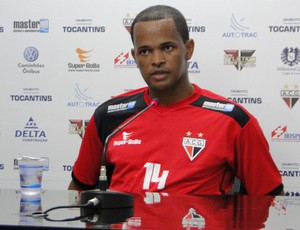 Gilson, zagueiro do Atlético-GO (Foto: Kaiê Oliveira/Atlético-GO)
