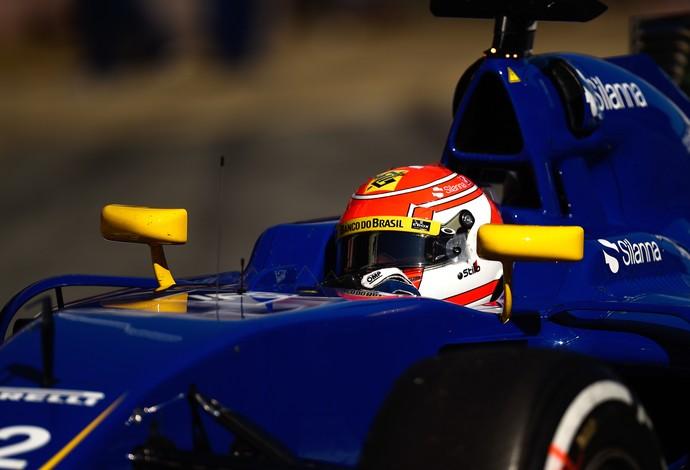 Felipe Nasr nos testes de Barcelona - Fórmula 1 F1 (Foto: Getty Images)