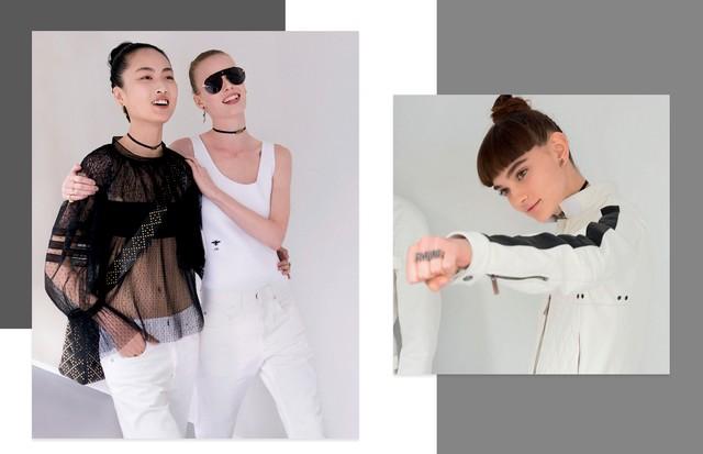 Dior: Na coleção de estreia de Maria Grazia Chiuri, boa parte dos looks é capaz de sair da passarela direto para as ruas (Foto: ImaxTree e Divulgação)