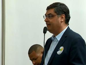 Lafayette Andrada candidato do PSL à Prefeitura de Juiz de Fora.jpg (Foto: TV Integração/ Reprodução)
