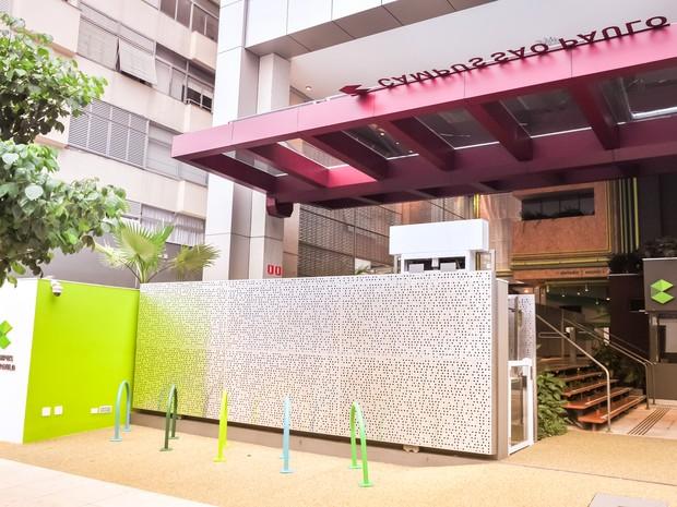 Fachada do Google Campus São Paulo (Foto: Divulgação)