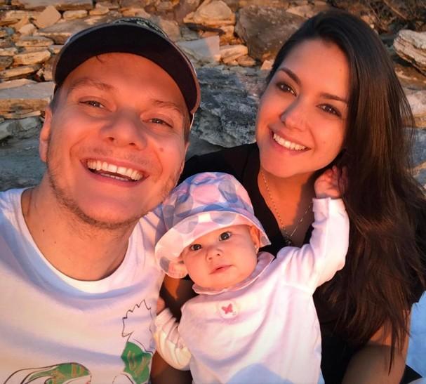 Thais Fersoza, Michel e Melinda (Foto: Reprodução/Instagram)