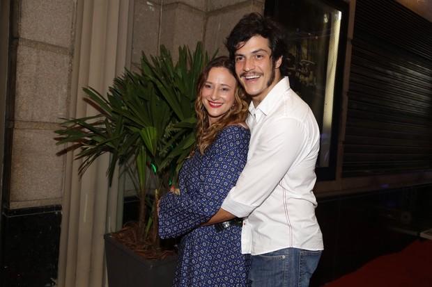 Paula Braun e Mateus Solano (Foto: Felipe Assumpção/Agnews)