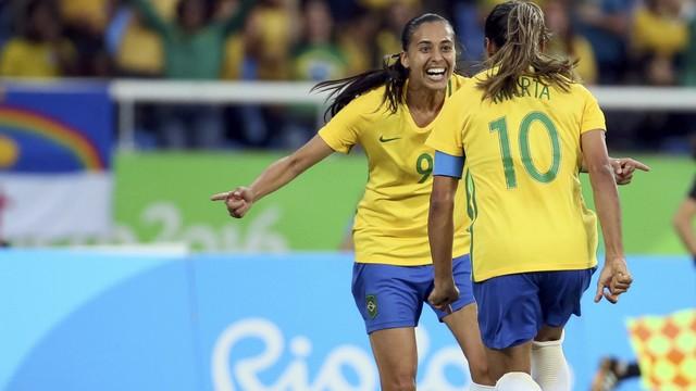 Brasil x China - Jogos Olímpicos - Futebol Feminino 2016-2016 ... 62e38c219d701