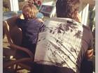 Claudia Leitte posta foto do filho mais velho e do marido: 'Tão feliz'
