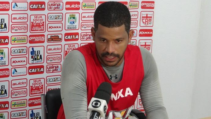Júlio César, goleiro do CRB  (Foto: Nívio Dorta/GloboEsporte.com)