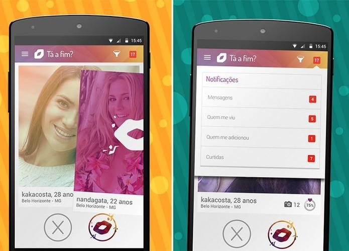 App Beija Eu Chat do Carnaval permite encontros durante os blocos (Foto: Divulgação/Google Play)