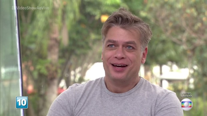 Fábio Assunção relembra seus personagens no 'Vídeo Show' (Foto: TV Globo)