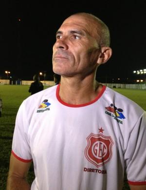 Cícero, técnico do Guajará (Foto: Franciele do Vale)