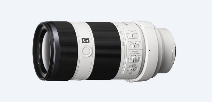 SEL70200G FE 70-200 mm F4 G OSS (Foto: Divulgação/Sony)