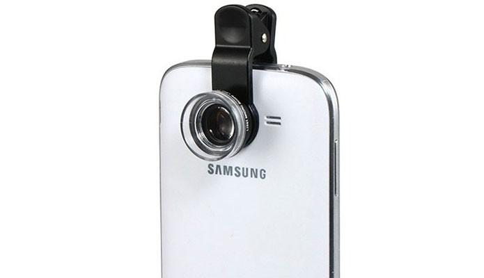Kit de lentes fisheye, macro e wide são baratos e melhoram área de captura (Foto: Divulgação)