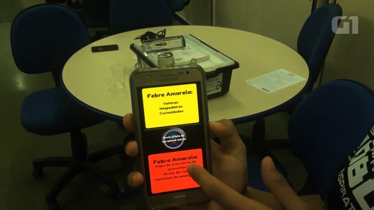 Goianos competem nos EUA com app para monitorar febre amarela