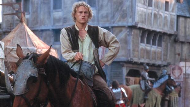 Sessão da Tarde traz Ledger em 'Coração de Cavaleiro' (divulgação)