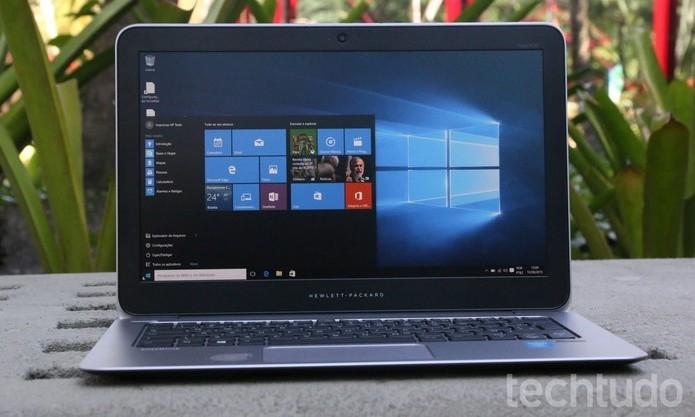 Microsoft garante que não coleta dados pessoais e arquivos dos computadores dos usuários do Windows 10 (Foto: Zíngara Lolfrano/TechTudo)