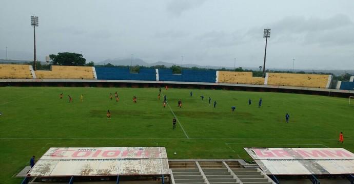 Palmas bateu Imagine de virada por 5 a 1 na tarde deste sábado (12) (Foto: Horlan Tavares/Divulgação)