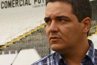 Tuca Guimarães, técnico do Comercial (Foto: Antônio Luís / EPTV)