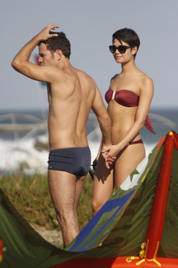 Daniel de Oliveira e Sophie Charlotte (Foto: Marcos Ferreira / photo rio news)